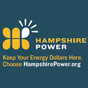 Keep your energy dollars here. Choose Hampshire Power.