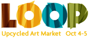 LOOP Upcycled Art Market
