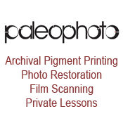 paleophoto: Archival Pigment Printing. Photo Restoration. Film Scanning. Private Lessons.